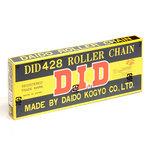 【DID428D-110】428-110L チェーン ブラック  型番:302-10022
