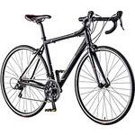 B-PCES46 エスプレッソ アルミS 18段シフト 700x25C ロードバイク 460mm/マットナイト ブラック  型番:B-PCES46B
