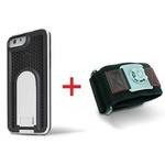 X-Guard iPhone6用ケース(ホワイト)&スポーツアームバンド(S)セット (LG-MA08-3118とLG-XC02-0188S)  型番:LG-MA08-3118_LG-XC02-0188S_SET