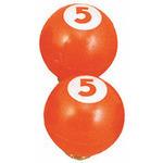 VLC03204 バルブキャップ ビリヤード オレンジ  型番:VLC03204